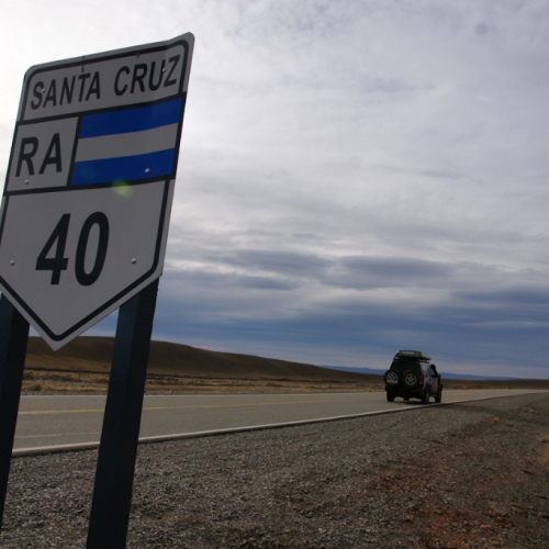 On the Ruta 40, Patagonia