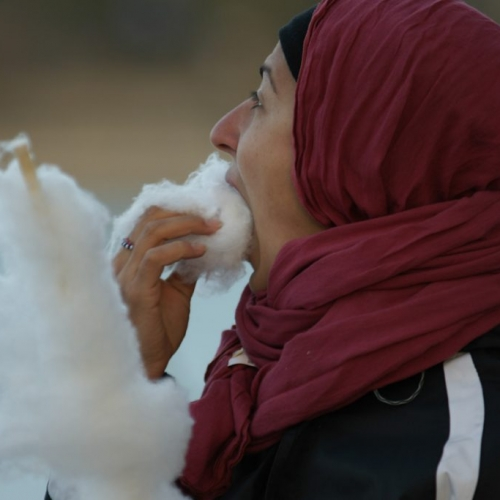 Cotton candy is popular in Iran