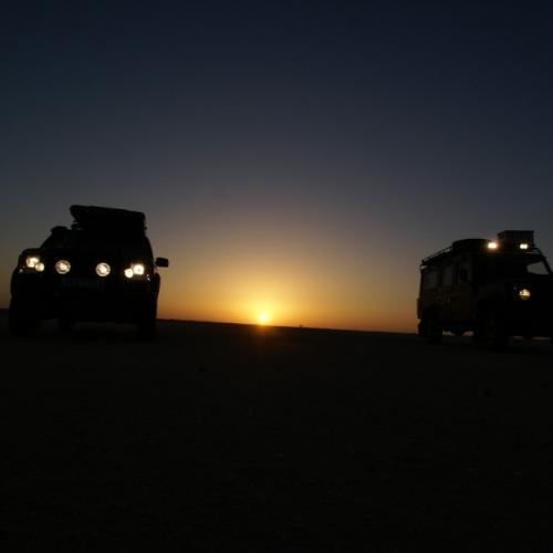 Crossing the Sahara, Mauritania