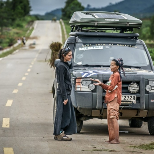 Stop over in Vietnam