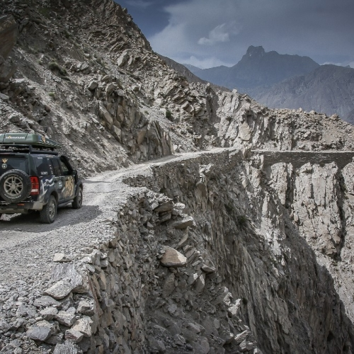 The extremest road in Pakistan