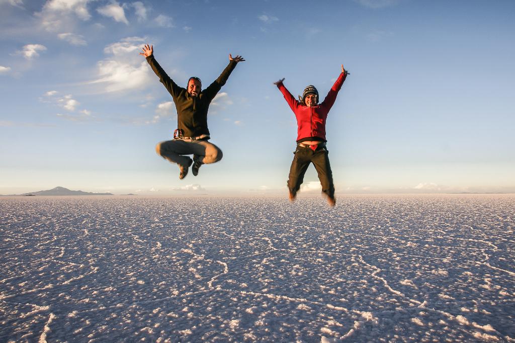 Salar de Uyuni is uplifting!