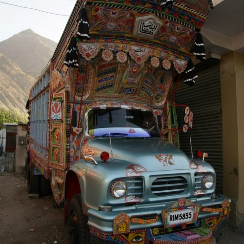 Iconic Pakistani truck