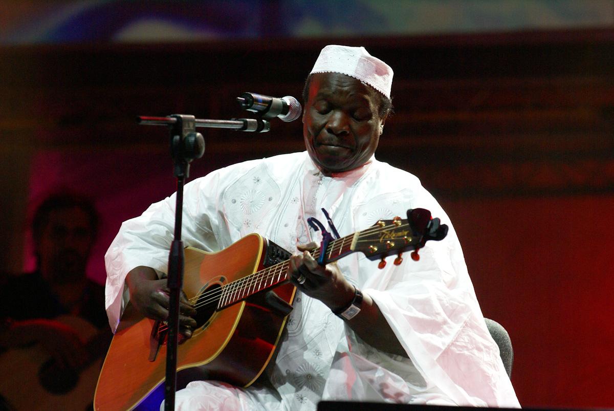 Mori Kantè live in Rabat festival, Morocco