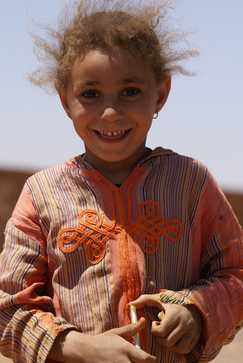 Cute sahara girl