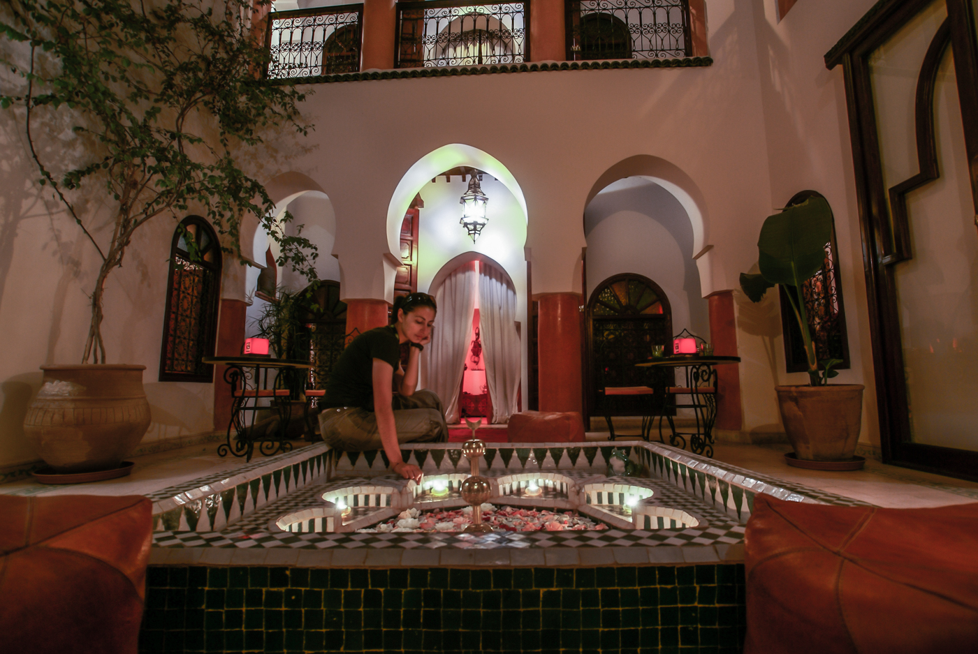 Maison Bel Baraka is at the heart of the Marrakesh Medina and is run by a Moroccan - Greek couple