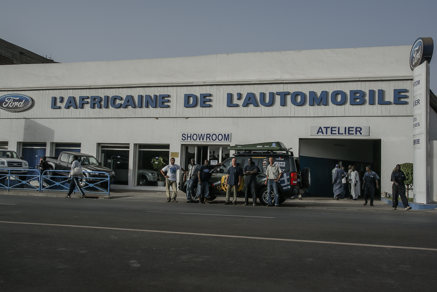 Thank you L'Africaine de l'Automobile in Dakar!