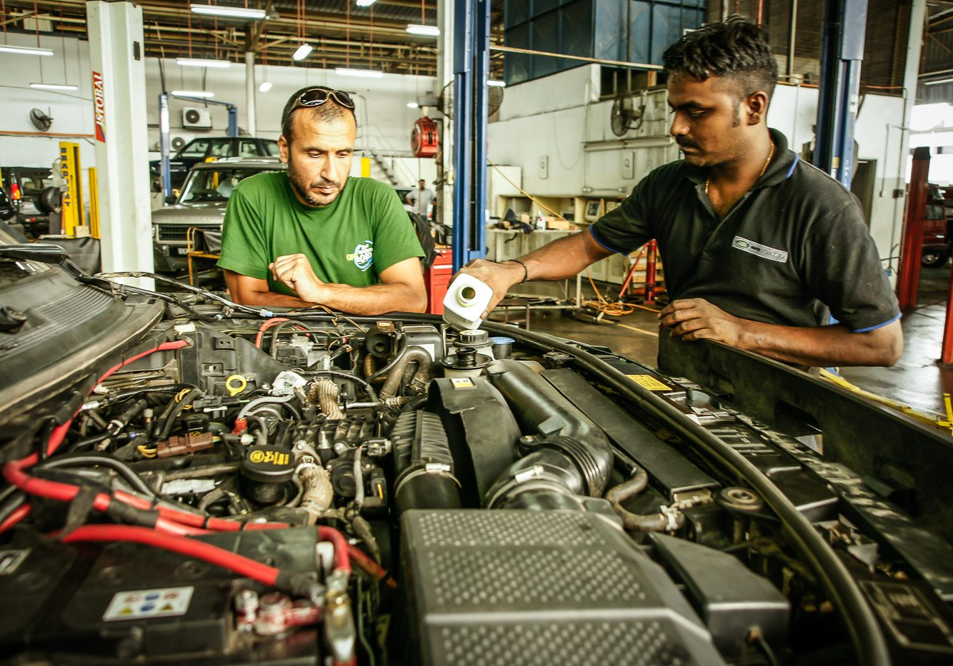 The mechanic who replaced the engine in Kuala Lumpur